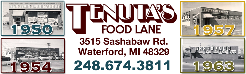 Welcome to Tenuta's Food Lane